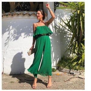 Zara Emerald jumpsuit